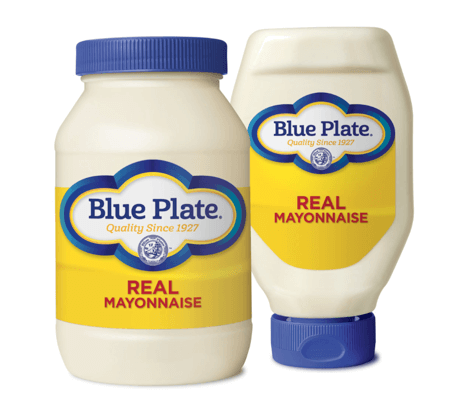 is mayonnaise gluten free - blue plate brand