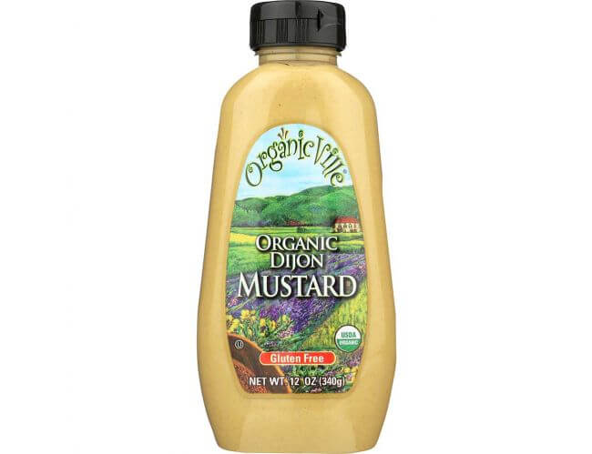 Is mustard free of gluten