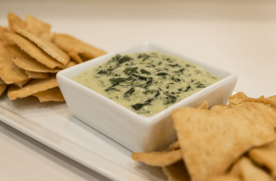 Gluten Free Spinach Artichoke Dip