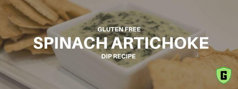 gluten free spinach artichoke dip recipe