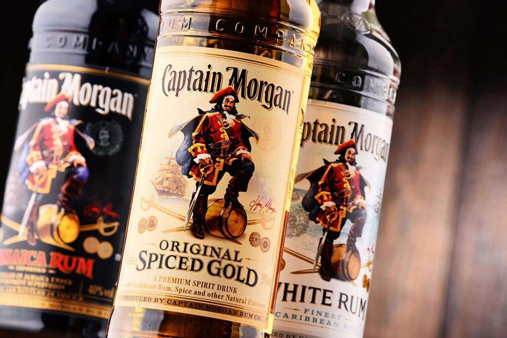is captain morgan rum gluten free