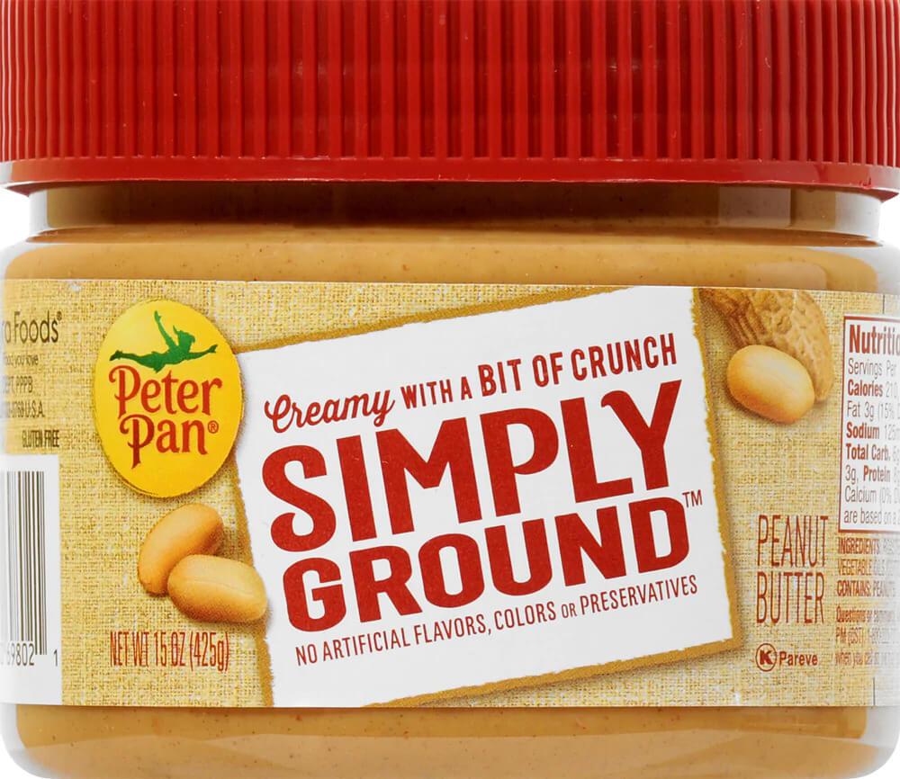 is peanut butter gluten free