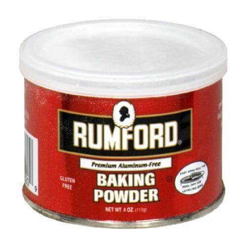 is baking powder gluten free - Rumford