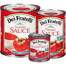 is tomato sauce gluten free - Dei Fratelli
