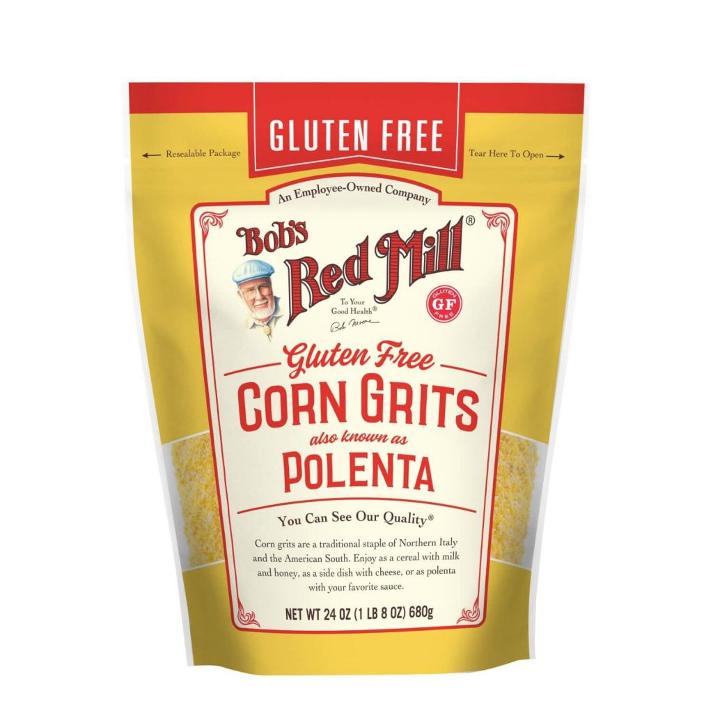 is polenta gluten free - Bob's Red Mill Corn Grits
