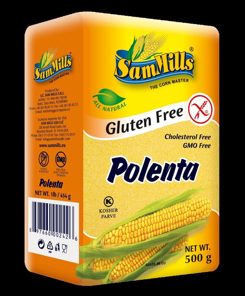 is polenta gluten free - Sam Mill
