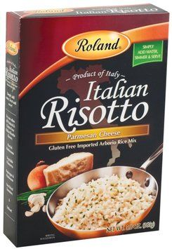 is risotto gluten free - Roland Food brand