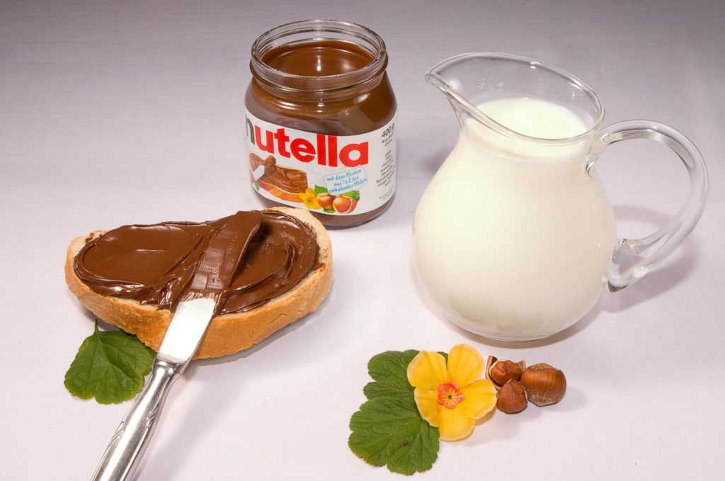 is nutella gluten free
