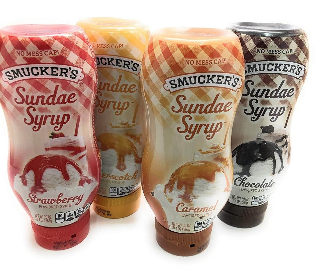 is smuckers caramel gluten free
