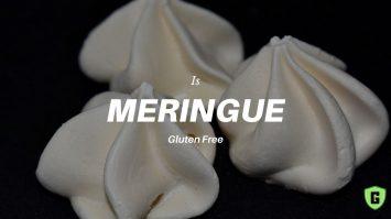 Is Meringue Gluten Free