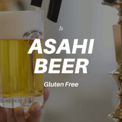 Asahi Beer in Glass