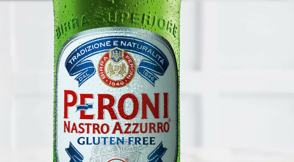 The only Asahi beer without gluten is Peroni Nastro Azzurro