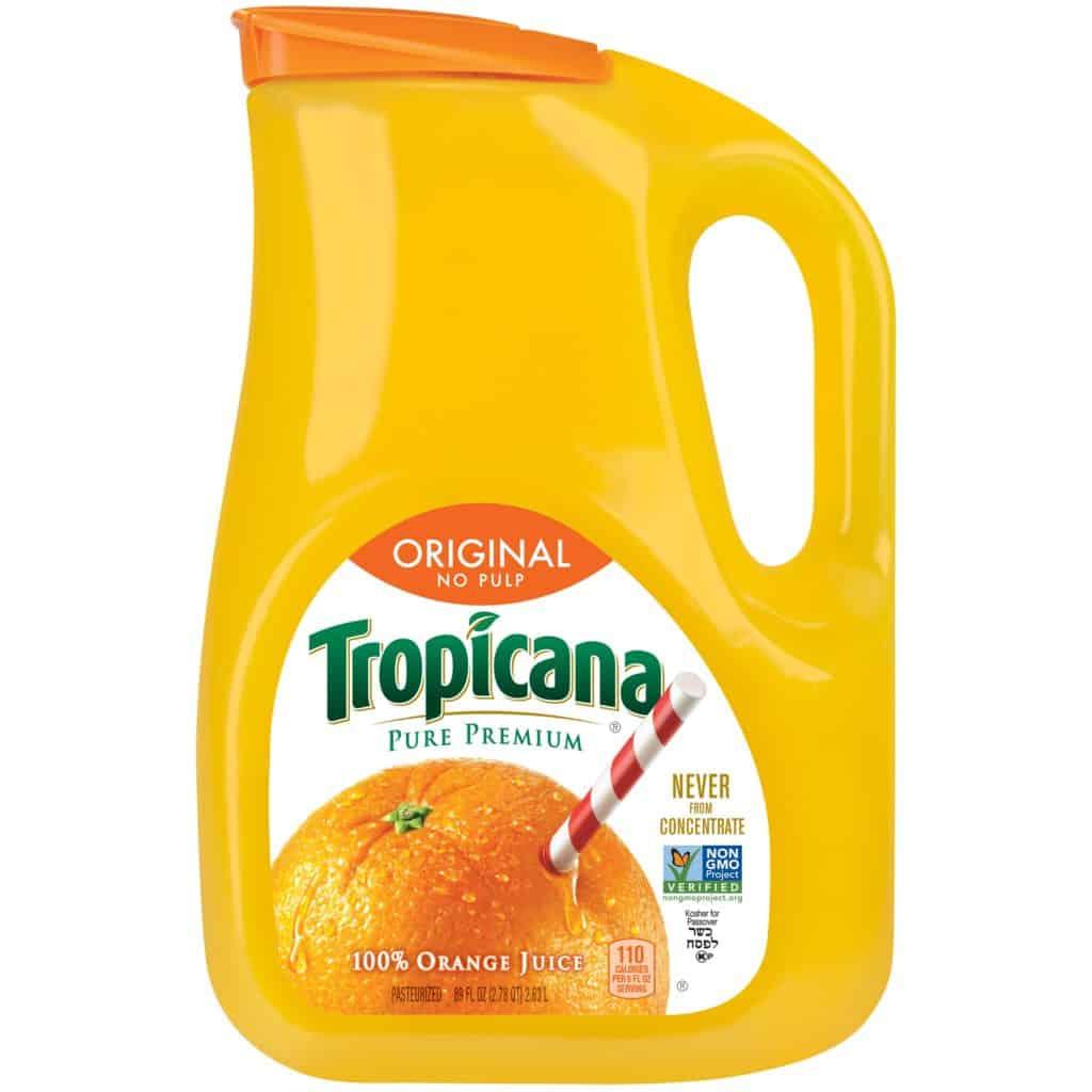 Gluten Free Tropicana Orange Juice